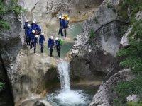 Clue de Saint Auban canyoning