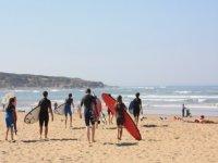 Surf a la Plage du Veillon
