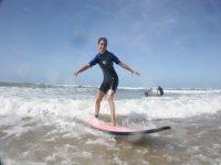 Surf dans la Houle