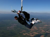 Parachutisme avec un instructeur