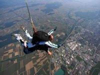 Saut en parachute en Saone et Loire