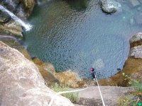 Canyoning Chalamy pres de Chamonix.