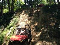 Descente sportive en buggy