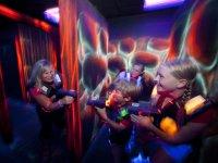 laser game en famille a Amiens