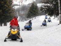 Rando motoneige pres de St Jean de Maurienne