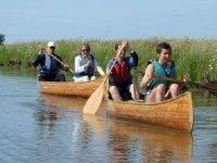 sortie canoe en famille dans le 85