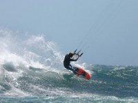 Kitesurf a cote de Montpellier