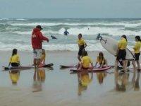 cours theorique de surf dans les Landes