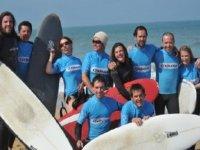 cours de surf a Seignosse