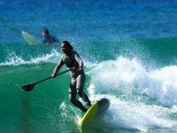 Aventure paddle surf avec Natural Surf Lodge