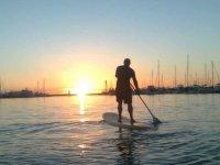 Remise en forme en paddle surf