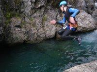 Canyoning dans les Hautes Pyrenees