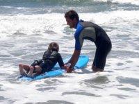 Lecon de surf dans le 40
