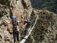 Parcours Via Ferrata dans les Hautes Pyrenees