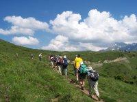 Randonnee en montagne avec Le Bureau des Guides de Luz Saint Sauveur
