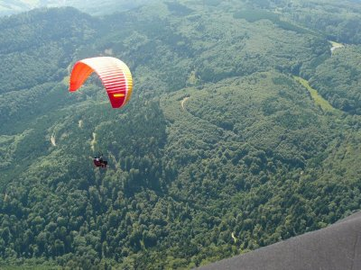 Takamaka Morzine Parachutisme