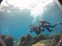 Poseidon diving