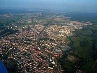 Luneville vue du ciel