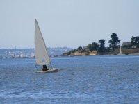 Calme et voile dans le Morbihan