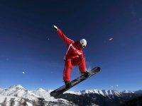 Snowboard cours expert dans les Alpes Francaises