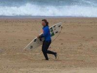 Decouvrir le surf a Contis