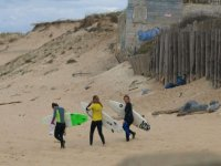 Ecole de surf a Contis ou St Girons plage