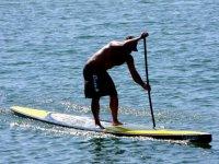 L'aprentissage du paddle surf