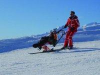 Ski et handicap a Le Collet