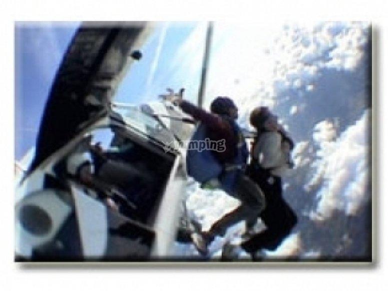 Decouverte du parachutisme avec Chute Libre