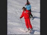 Cours de ski dans le massif Alpes d Huez