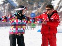 Apprendre le snowboard a Vaujany