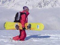 Prendre un cours prive de snowboard pro