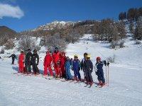 Vacances hivers cours collectifs de ski dans les Alpes du sud