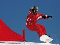 Faire du snowboard a Chaillol