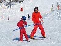 Saison de ski enfants