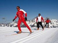 Ski de fond dans les Hautes Alpes avec l Ecole de Ski Francais