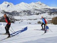 Cours de ski de fond Parc National des Ecrins