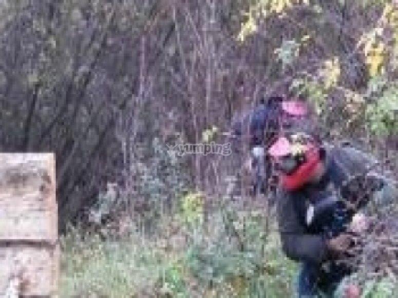 Decouverte Paintball dans le Jura