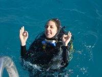 Mathilde niveau 3 au soleil en Egypte