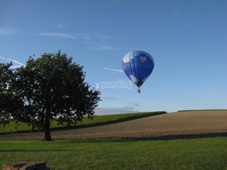 Ti coeur le ballon de Charente Montgolfières