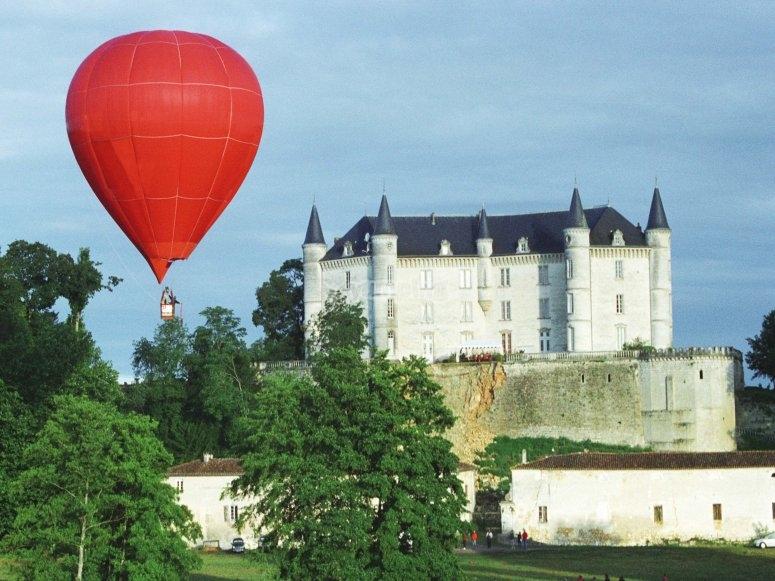 Chateau de la rochandry vu du ciel