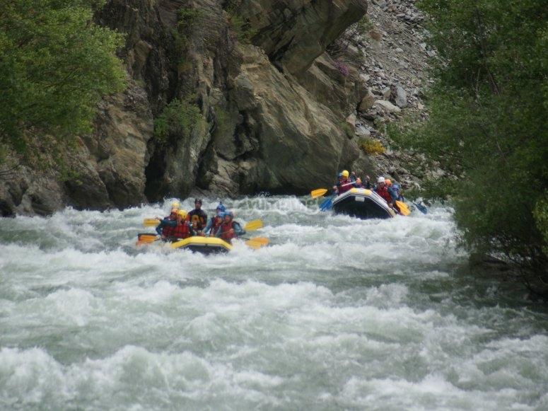 Rafting dans les Gorges de Saint Georges et de Pierre  Lys