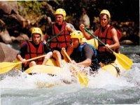 Rafting dans le 64