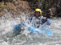 Kayak sur Ubaye