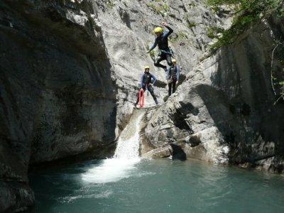 Evasion Rock'n raft Canyoning