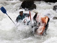 rafting courant rapide