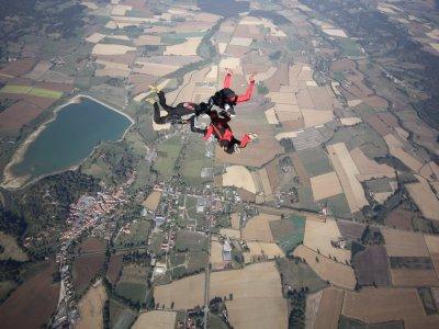 Saut en parachute tandem en Occitanie