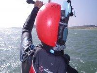 Equipement radio pour le kitesurf