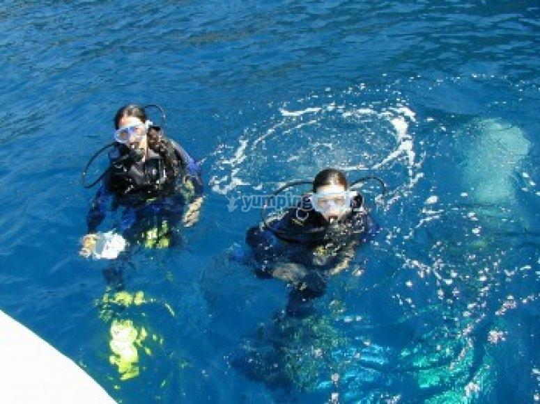 Niveau I de plongee pour tous