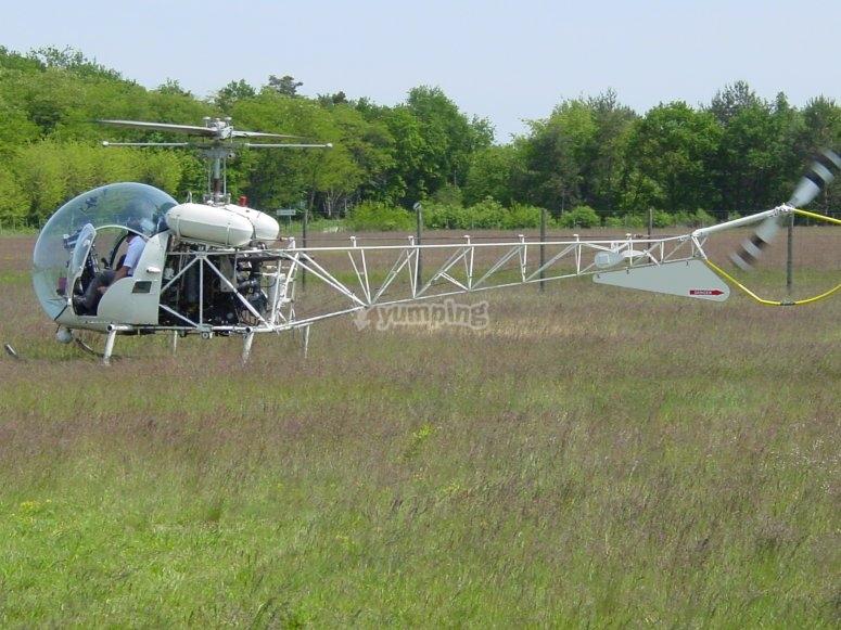 Bell 47 au depart